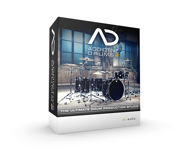 XLN Audio Addictive Drums 2 + Fairfax Vol 1 & 2, Indie Pack + Midi Packs