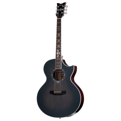 Schecter Synyster Gates 'SYN GA SC' Acoustic Electric Guitar - Trans Black Burst Satin for sale