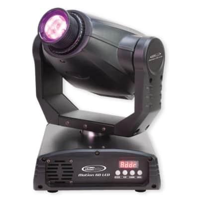 Eliminator Lighting Motion 60 LED Moving head 8 colors Master/Slave and DMX