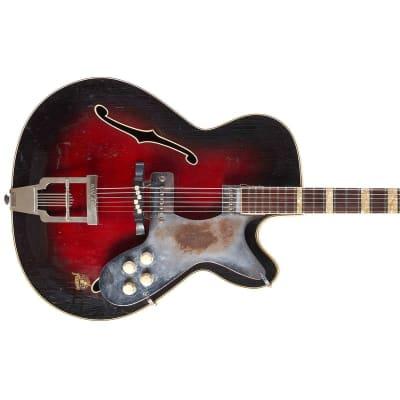 Framus Billy Lorento De Luxe Black Rose 1950s