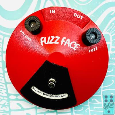 Dallas Arbiter Fuzz Face Reissue!