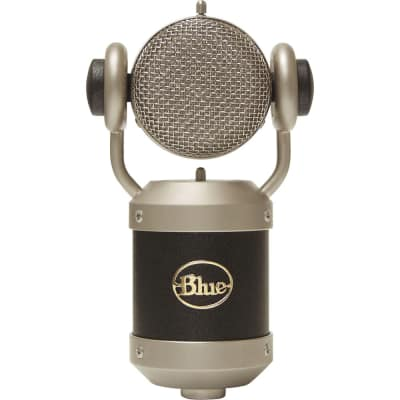 Blue Mouse Large Diaphragm Condenser Microphone with Rotating Head