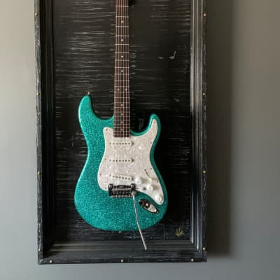 G&L S-500 USA Metalflake Sparkle Finish w/ Peter Florance Voodoo Pickups for sale