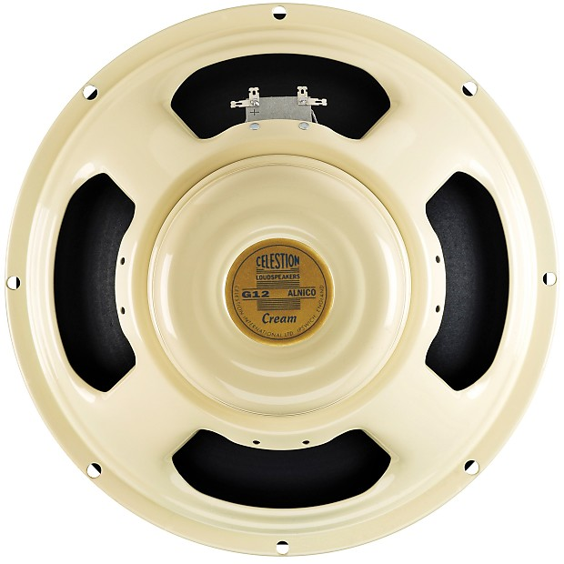 celestion cream alnico guitar speaker 12 inch 90 watts 8 reverb. Black Bedroom Furniture Sets. Home Design Ideas