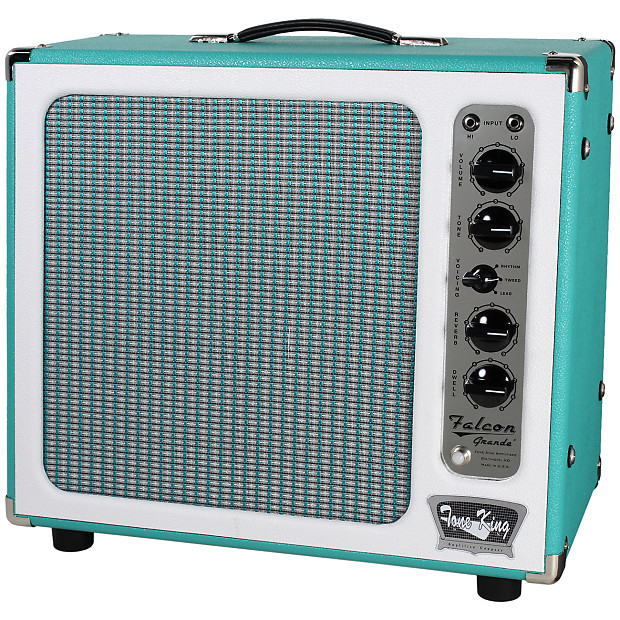 tone king falcon grande turquoise humbucker music reverb. Black Bedroom Furniture Sets. Home Design Ideas