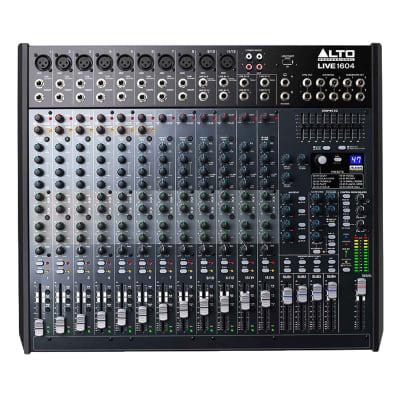 Alto Professional Live 1604 16-Channel / 4-Bus Mixer w/USB, Superior DSP & Preamps