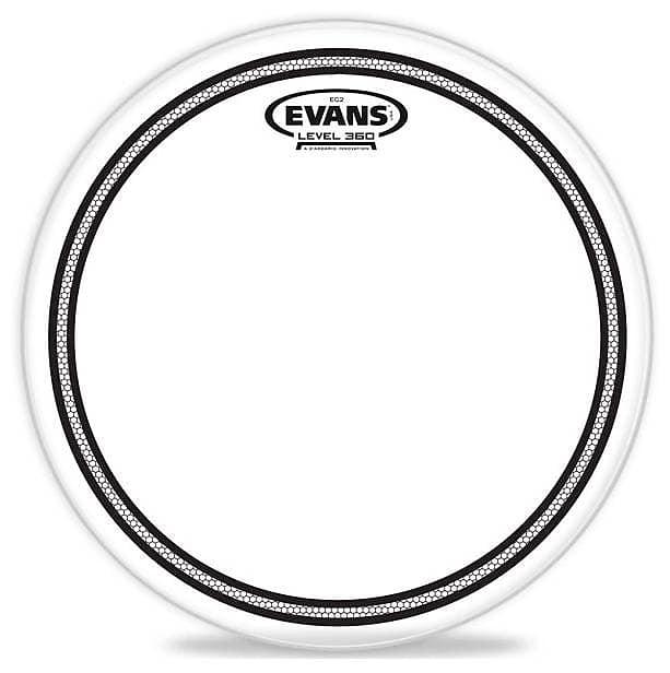 evans ec2 clear drum head 13 inch melody music shop llc reverb. Black Bedroom Furniture Sets. Home Design Ideas