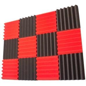 "Seismic Audio SA-FMDM2-6Each 2x12x12"" Studio Acoustic Foam Sheets (12-Pack)"