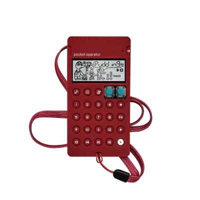 Teenage Engineering CA-X Pocket Operator Pro Silicone Case Burgundy