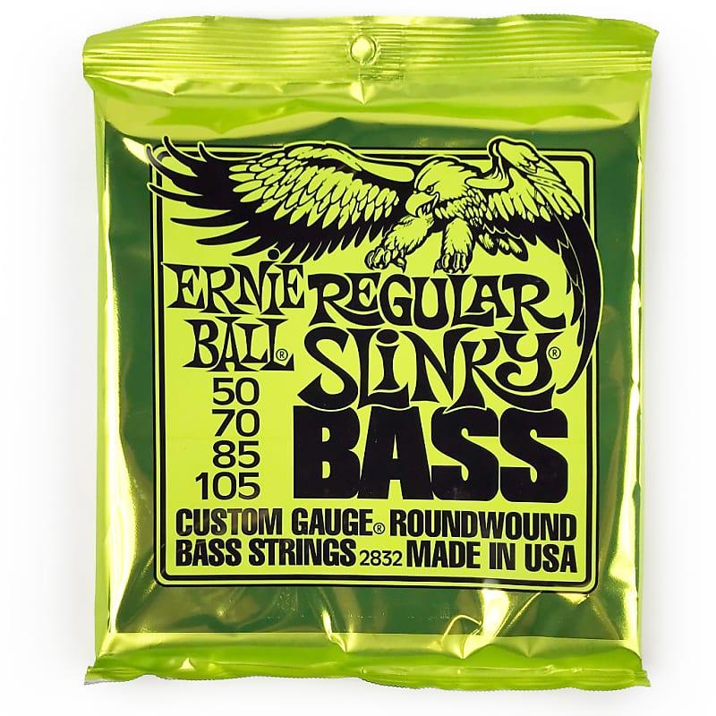ernie ball 2832 regular slinky bass nickel wound guitar reverb. Black Bedroom Furniture Sets. Home Design Ideas