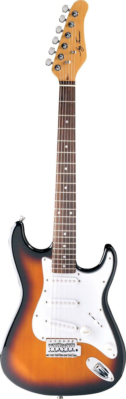 Jay Turser Junior Double Cutaway Electric Guitar 3/4 Size T. Sunburst JT-30