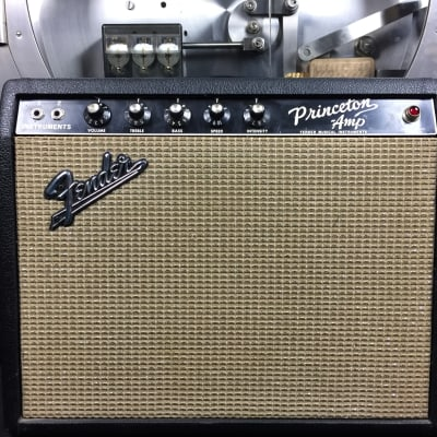 Fender Princeton 1965 Blackface w/ Footswitch for sale