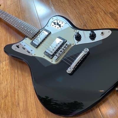 Fender Jaguar HH Special MIJ U-Serial 2010 Rare Piano Black Finish