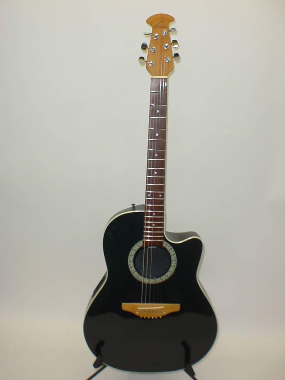 ovation 1761 standard balladeer acoustic electric guitar made reverb. Black Bedroom Furniture Sets. Home Design Ideas