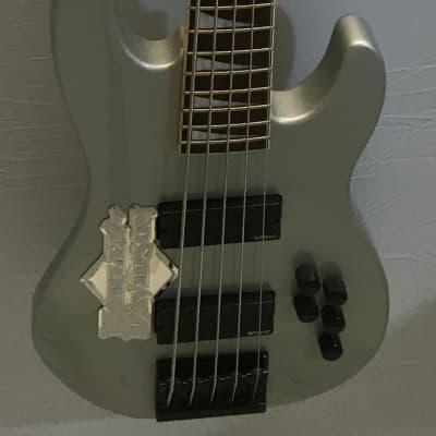 Jackson David Ellefson Quicksilver 5 string active bass, local pickup only