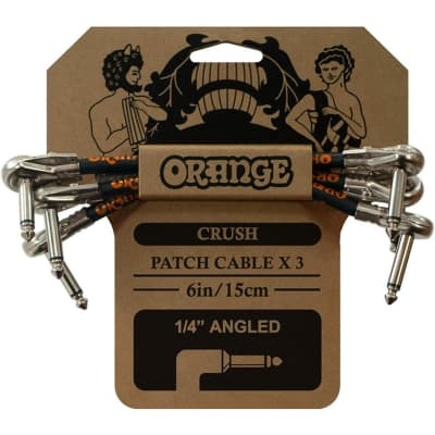 Orange Cables Crush 6 inch Patch Cable 3-pack