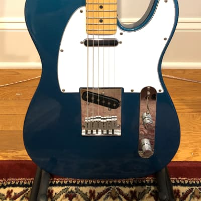 (1999) Fender American Standard Telecaster, Aquamarine Metallic for sale
