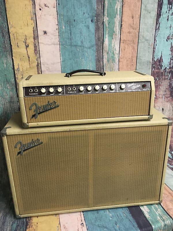 Original Fender Bandmaster 1963 Blonde Head And 2 X 12