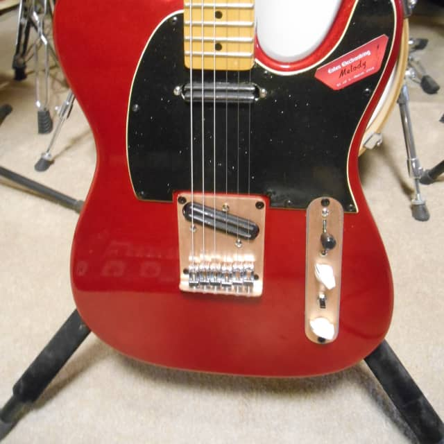 SX VTG Series Tele --Modded With HH Rails Plus...A Mad Mod By Estes Electrostring image