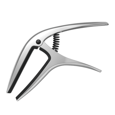 ERNIE BALL 9601 AXIS CAPO - SILVER - Ships FREE Lower 48 States! for sale