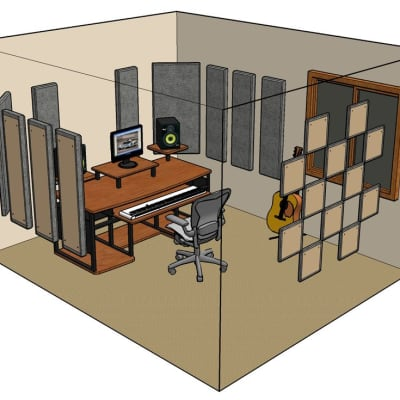 Primacoustic LONDON 12 Room Kit Grey