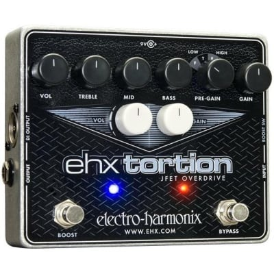 Electro-Harmonix EHX Tortion JFET Preamp Overdrive Pedal for sale