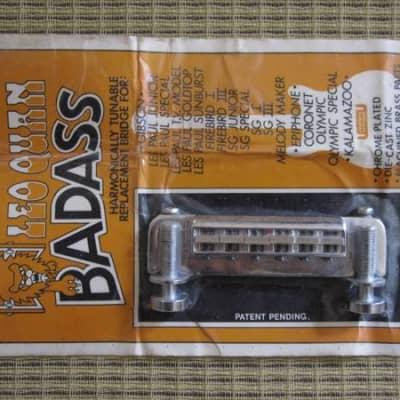1970's Leo Quann BADASS Bridge GIBSON! New Old Stock! for sale