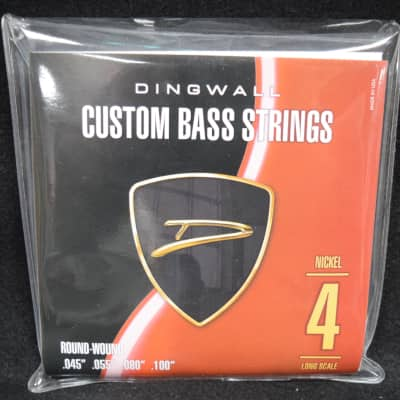 Dingwall Nickel Round Wound (4 String)  45-100