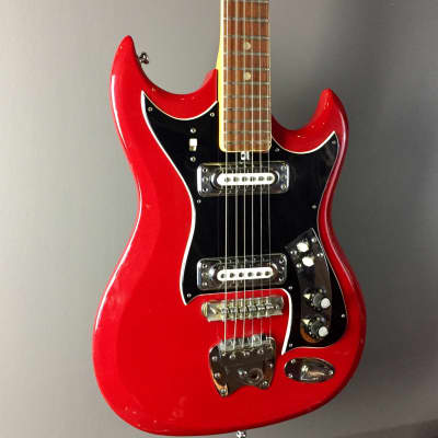 Electra Hagstrom II 60's/70's Red for sale