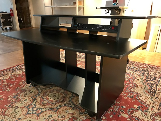 Omnirax Presto 4 Studio Desk Black Reverb