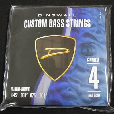 Dingwall 4-String Stainless Steel Roundwound Bass Strings (45-98)