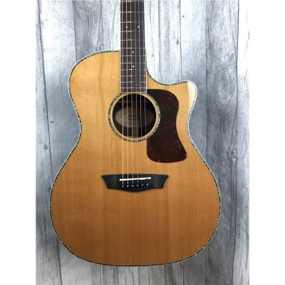 Washburn G26SCE Heritage Grand Auditorium Electro Acoustic, Natural, B-Stock for sale