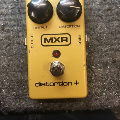 MXR Distortion Plus 1982 With DC Jack And LED