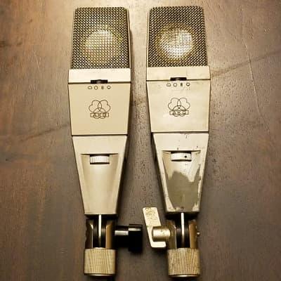AKG C414 comb with Brass CK12 Capsule (Pair)