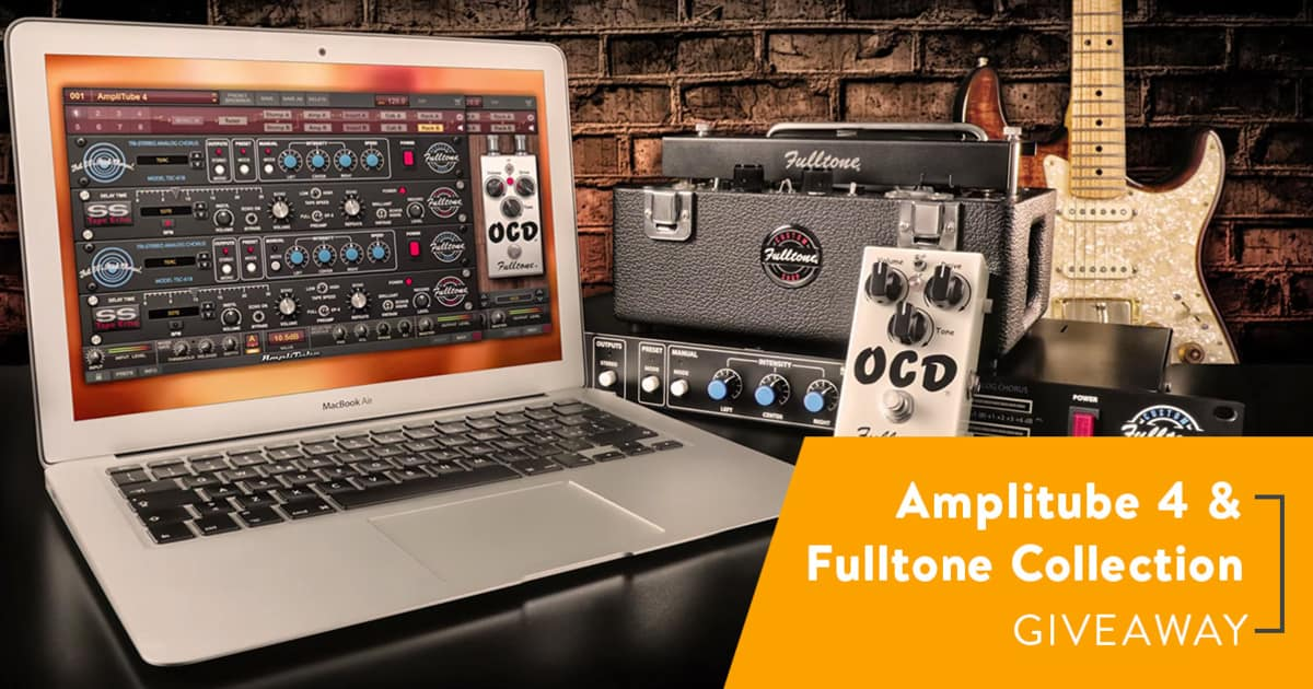ik multimedia amplitube 4 fulltone collection contest reverb. Black Bedroom Furniture Sets. Home Design Ideas