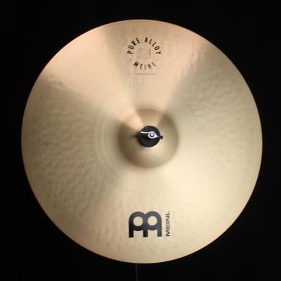 "Meinl 18"" Pure Alloy Medium Crash - 1347g (video demo)"