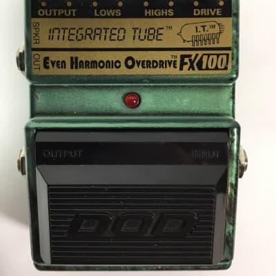 DOD FX100 Even Harmonic Overdrive