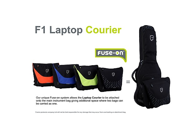 87661e811e FUSION F1 Laptop Courier Black - 13