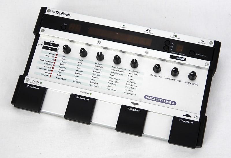 digitech vocalist live 4 vocal effect processor reverb. Black Bedroom Furniture Sets. Home Design Ideas