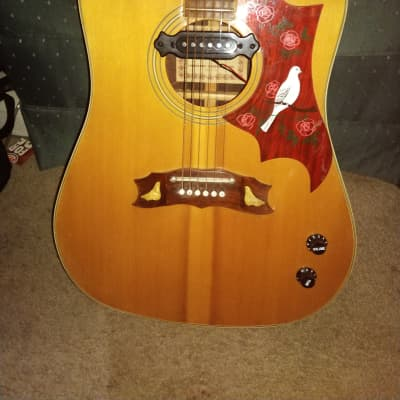Cool Rare Vintage Montaya Dove Guitar 1970s for sale