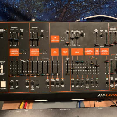 Korg Arp Odyssey Rev 3 Module and SQ-1 Sequencer