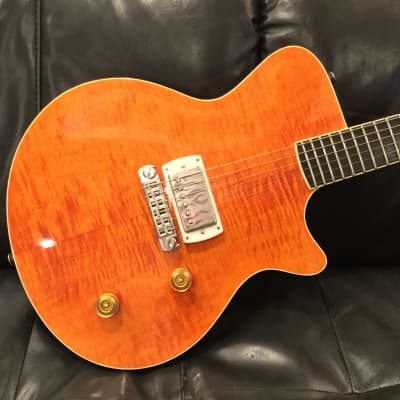 Super Rare Saul Koll built Hottie 327 Trans Orange Carved Top - Near Mint! for sale