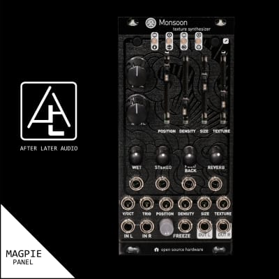 Monsoon (Expanded uBurst) Mutable Instruments Clouds Eurorack Module - Magpie Panel