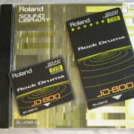 Roland SL-JD80-03 Rock Drum ROM Card Set for JD-800 Synthesizer