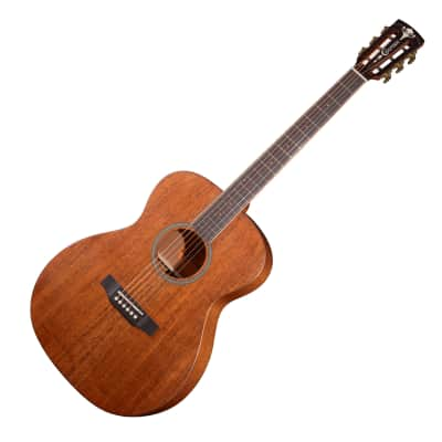 Crafter MIND Prestige SolidTop Mahogany Preamp EQ Orchestra Body Acoustic Guitar for sale