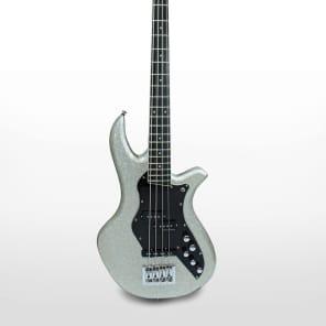 Dream Studios Studio Bass - Metallic Silver Sparkle P/J combo for sale