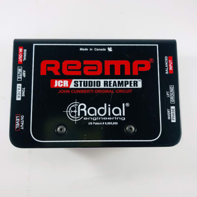 Radial Reamp JCR Studio Reamper  *Sustainably Shipped*