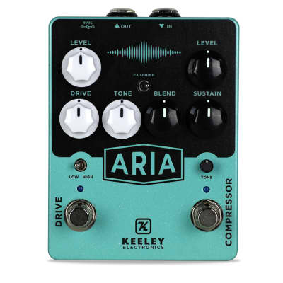 Keeley Electronics Aria Compressor Compressor Overdrive Effects Pedal