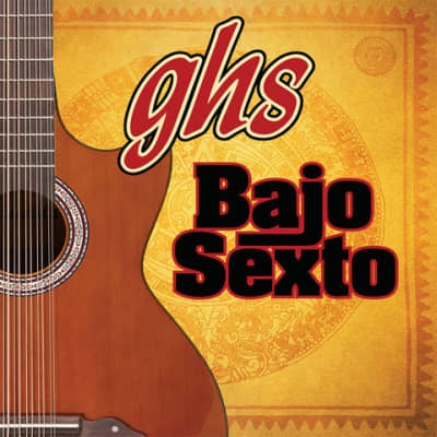 GHS BSXB-12 Bajo Sexto Phosphor Bronze 12 String Set