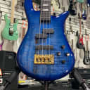 Spector Euro4 LT Blue Fade Gloss 4 String Bass w/ Gig-Bag + Free Shipping, Auth Dealer